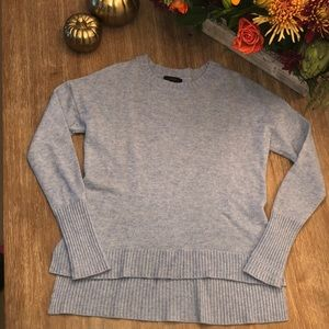 J. Crew High-low crewneck sweater- sold out online